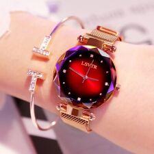 Gold Silver Rose Black Magnetic Clasp Watches - Fashion Women Unisex Stylish