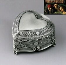 High Quality Tin Alloy Heart Shape Music Box : Pirates Of Caribbean Davy Jones