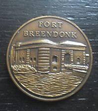 militaria médaille penning Fort BREENDONK