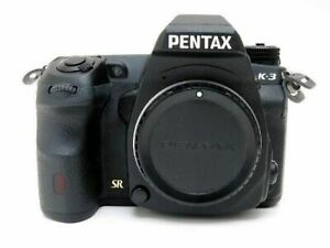 Pentax K-3 23.4MP Digital SLR Camera Black Body Excellent from Japan F/S