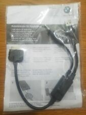 BMW / MINI  OEM Music Adapter / Charger Apple iPod / iPhone Kit Y Cable - NEW