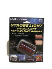 Midland Strobe Light For Weather Radios - Visual Alert - 18-Str
