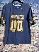 West Virginia Mountaineers Shirt Adult Extra Large Blue Mens🔥🏈Rare Only One🔥