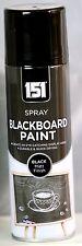 151 Black Board School Blackboard Spray Paint  Matt Black 250ml for Chalk Board