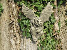 Batman wall gargoyle stone garden ornament