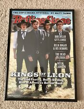 "Rolling Stone ""Kings Of Leon"" 2009 Picture Frame 11"" X 14"" Free Shipping"