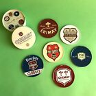 Chimay+Beer+Advertising+Tin+Cork+Coasters+-+Set+of+6+with+Collector+Tin