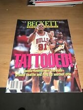 Beckett Basketball Magazine Dennis Rodman Bulls August 1996 Chicago