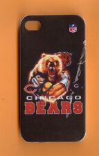CHICAGO BEARS Rigid 1 Piece Snap-on Case for iPhone 4 / 4S (Design 11)+STYLUS