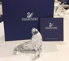 Swarovski Crystal MOTHER SEA LION SEAL 679592 / 7661 000 007 NEW IN BOX