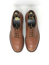 Trickers tan leather lace up derby shoes size UK 9.5