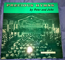 """Precious Hymns"" by Peter and John 1960's CHRISTIAN GOSPEL 33RPM VINYL LP ALBUM"