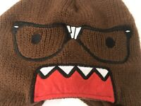 Domo Stretch Knit Cap Beanie Winter Hat One Size Fits All Nerd Glasses