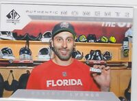 18/19 SP AUTHENTIC...ROBERTO LUONGO...AUTHENTIC MOMENTS...CARD # 106...PANTHERS