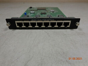 ADTRAN Octal T1/E1 Wide Module 8-Port Wired Router 1202843E1 - Free Shipping