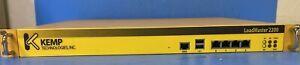 KEMP LoadMaster BALANCER  MODEL:2200 NSA1042N8-LM2200
