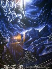 EMPEROR - IN THE NIGHTSIDE ECLIPSE - POSTER -  45cm x 57cm  - BLACK METAL