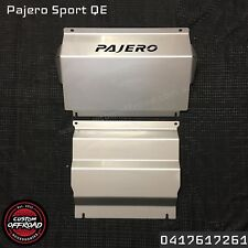 Pajero Sport QE 2016, 2017 4mm Bash Plates Underbody Protection -Custom Offroad