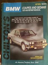 BMW Coupes and Sedans, 1970-88 (Chilton's Total Car Care Repair Manuals), Chilto