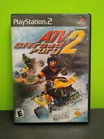 ATV Offroad Fury 2 Sony PlayStation 2, 2002 No Manual