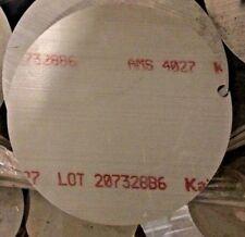 Aluminum 6061 Round Plate 1125 X 1125 Diameter