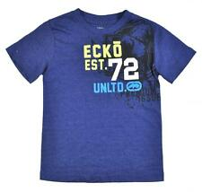 Ecko Unltd Toddler Boys S/S New Navy Heather Blue Top Size 2T $16.50
