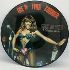 IKE AND TINA TURNER LP Rock Me Baby PICTURE DISC great copy