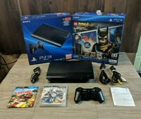 Sony Playstation 3 Console Bundle Lot & 3 Games Tested!