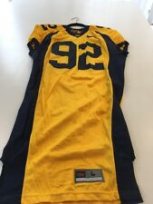 Game Worn Used Nike Cal Golden Bears Football Jersey #92 Size Large