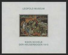 Austria Stamps 2005 SG MS 2779 Egon Schiele - Row of Houses Mint MNH