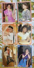 Lot 33 Rare Bollywood Madhuri Dixit Postcard Postcards Post Card P13