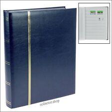 SAFE CLASSIFICATORE IN FORMATO A4 CON 64 FACCIATE BIANCHE COPERTINA BLU