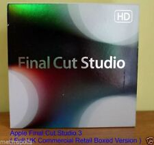 Apple Video Editing Software DVDs