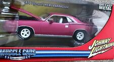 1970 PLYMOUTH HEMI BARRACUDA 1:24 2005 Johnny WHITE WHEELS & INTERIOR Lightning