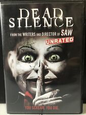 Dead Silence (DVD, 2007, Unrated,Widescreen)-Horror
