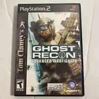 Ghost Recon Advanced Warfighter Sony PlayStation 2 2006 Complete PS2 Video Game
