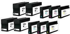 10 Pk 950XL 951XL Ink Cartridge For HP OfficeJet Pro 8100 8600 8610 8615 w/Chip