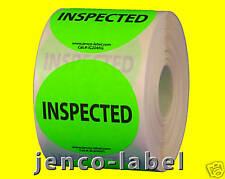 """IC2045G, 500 2"""" dia Inspected Label/Sticker"""