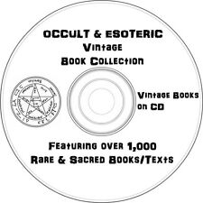 Occult, Esoteric & Spiritualism Vintage Book Collection on DVD