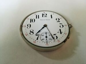 South Bend pocket watch movement 16s