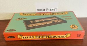 """NEW 16"""" Tabletop Sling Shuffleboard Game Table FACTORY SEALED No Assembly Req."""