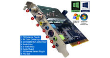 Advanced 3-In-1 PCI Card Combining Analog TV Tuner, Digital Video Recorder