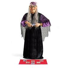 Life Size Animated Halloween Fortune Teller Figure Prop Haunted House Decor