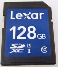 Lexar 128GB SDXC UHS-I / U3 Class-10 Card New