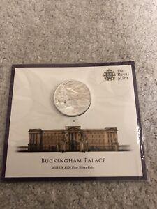 Royal Mint 2015 Uk Silver £100 Coin Buckingham Palace