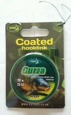 Katran Gurza Coated Sinking Braid Hooklink 25 lb  20m - Carp Fihsing - 1 Spools