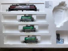 Roco 51290 Digitalset BR 220 + Kesselzug BP H0 DB DCC mit Geoline Gleis