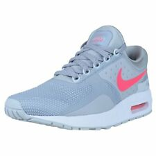 c6757f130835b Nike Air Max Zero Essential GS Youth Shoes Size 6.5y Wolf Grey racer Pink