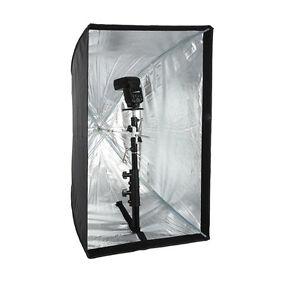 【AU】60x 90cm Softbox Umbrella Reflector For DSLR Studio Photo Flash Speedlite