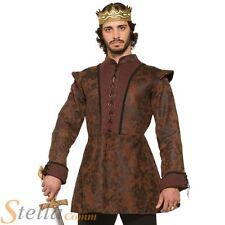 HOMMES ROI Déguisement Médiéval Fantaisie Arthur Chevalier Adulte Costume